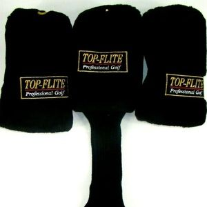 Top Flite Professional Golf Head Covers 1 3 And 5